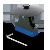 Artex - Kalottenträger, Gewinde - Carbon Version