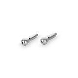 Artex Gesichtsbogen - Porusknöpfe lang