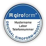 Giroform Etiketten